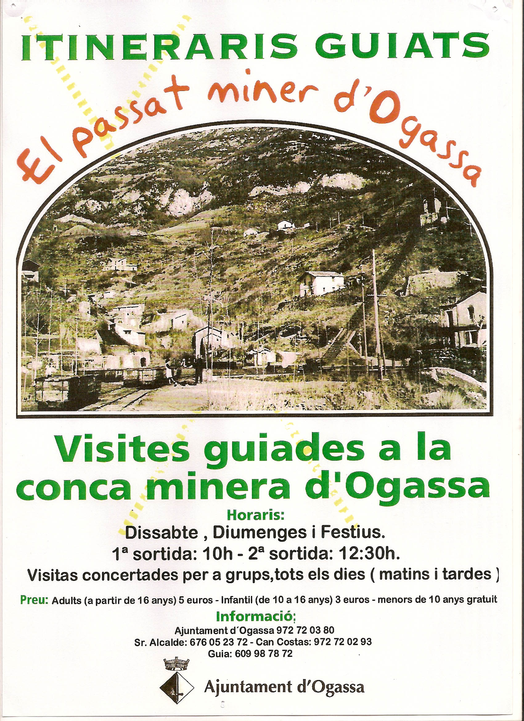 CARTELL VISITES MINES